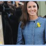 Голубое пальто Кейт Миддлтон
